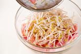 豚肉とモヤシのレンジ蒸しの作り方1