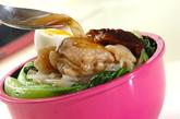 高野豆腐で豚角煮丼弁当の作り方4