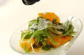 デコポンと水菜のヨーグルトサラダの作り方4