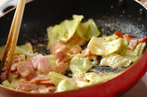 キャベツのクリーム煮の作り方2