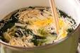 ワカメの卵スープの作り方5