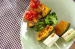 串焼き野菜