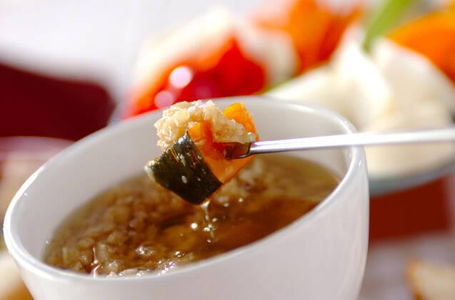 蒸し野菜とバーニャカウダの作り方の手順8