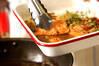 洋風揚げサーモンマリネの作り方の手順3