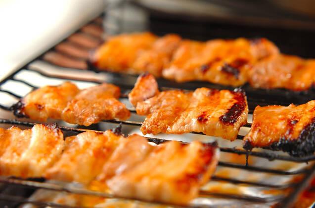 豚肉の梅ダレ焼き丼の作り方の手順3