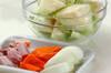 キャベツの蒸し煮の作り方の手順1