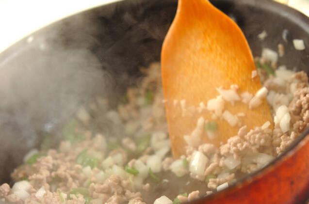 ナシゴレン風炊き込みご飯の作り方の手順5