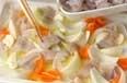 イカと野菜のパン粉焼きの作り方2
