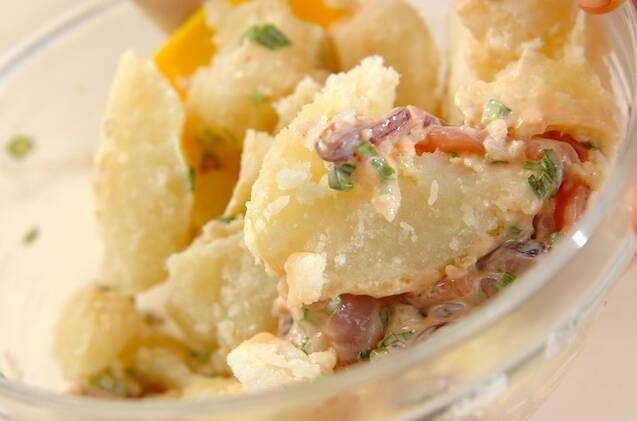 ジャガ塩辛サラダの作り方の手順2
