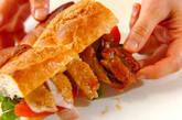 甘辛タレの照り焼きチキンサンド♪の作り方9