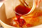 甘辛タレの照り焼きチキンサンド♪の作り方2