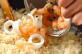 パプリカ詰め焼きリゾットの作り方2