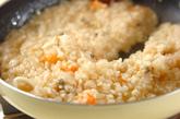 パプリカ詰め焼きリゾットの作り方4