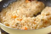 パプリカ詰め焼きリゾットの作り方9