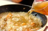 パプリカ詰め焼きリゾットの作り方8