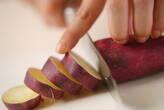 サツマイモのカラメルがけの作り方1