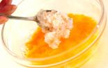 カニ玉丼の作り方2