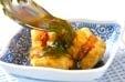 エビはさみ揚げだし豆腐の作り方4