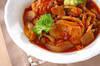 やわらかチキンとたっぷり野菜のトマト煮の作り方の手順