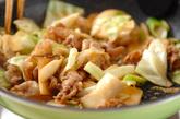 豚と野菜のみそ炒めの作り方3