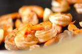 エビのガーリック風味炒めの作り方1