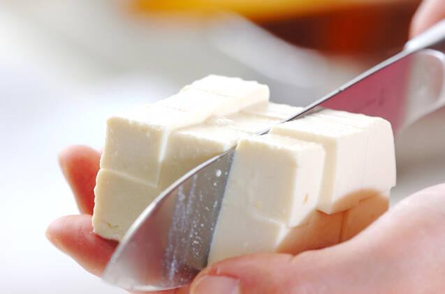 シイタケのみそ汁の作り方の手順3