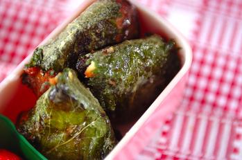 マグロ缶の大葉サンド