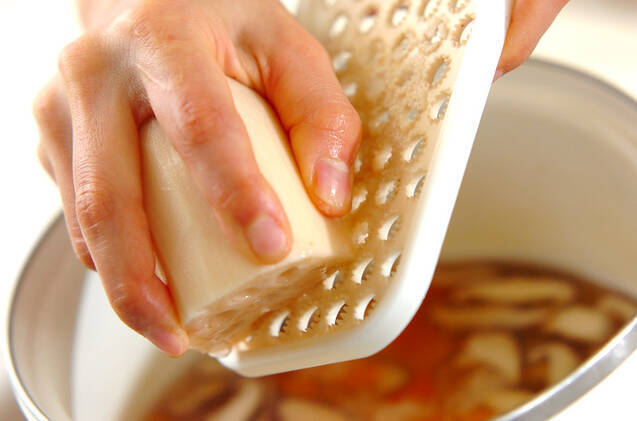 レンコンのフワフワスープの作り方の手順5
