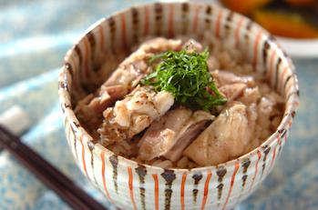 鶏の炊き込みご飯