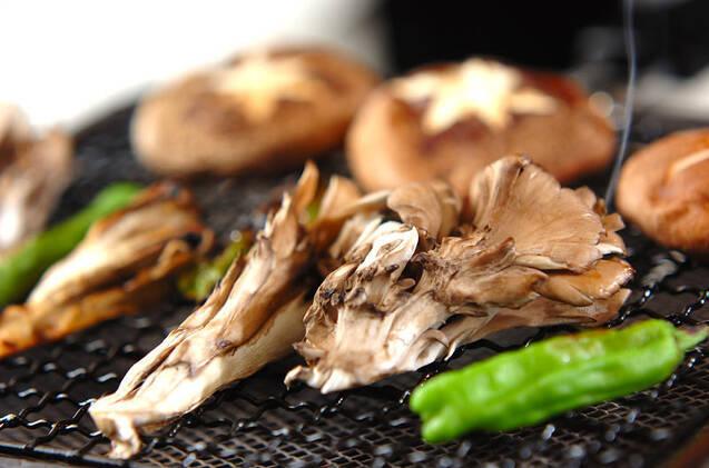 焼きキノコ・ショウガじょうゆがけの作り方の手順5