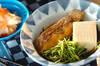 鯛の煮物の作り方の手順