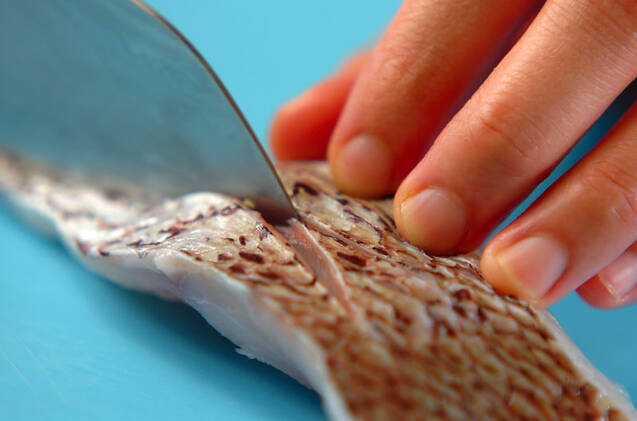 鯛の煮物の作り方の手順1