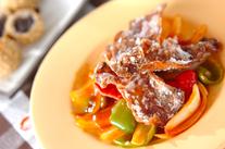 カリカリ酢豚