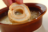 お麩でオニオングラタンスープの作り方2