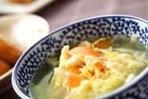 ワカメとレタスのスープ