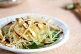 大根とミツバのサラダ
