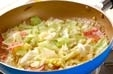 キャベツの煮浸しの作り方2