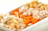 タケノコの混ぜご飯の下準備1