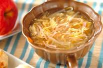 モヤシのトロミスープ