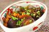 シイタケと大豆のうま煮の作り方の手順