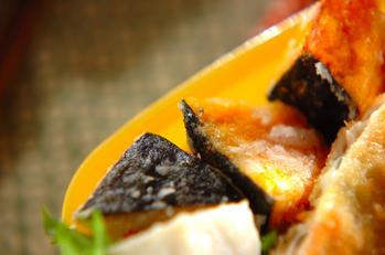 里芋とカボチャの唐揚げ