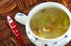 レタスと春雨のスープの作り方の手順