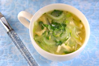野菜のコーンスープ