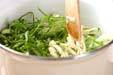 野菜のコーンスープの作り方1