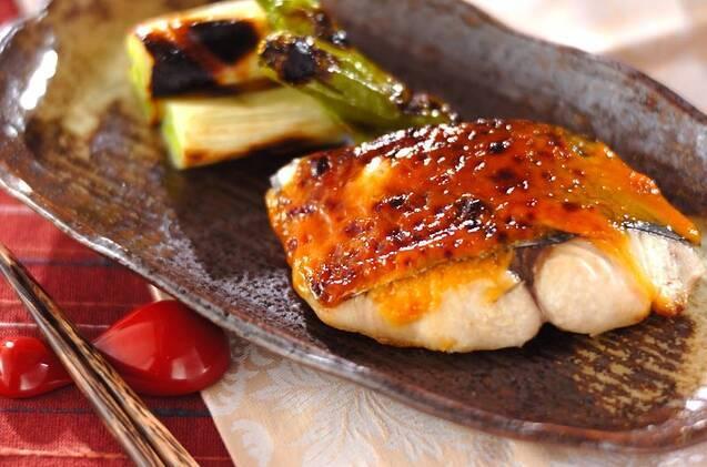 味噌マヨ風焼き魚