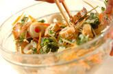 ゴーヤとちくわのゴママヨネーズサラダの作り方2