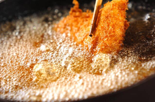 チーズサンドチキンカツの作り方の手順5