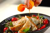 焼き餃子サラダの作り方2