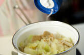 春キャベツのスープ煮の作り方3