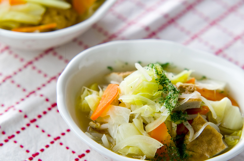 5.春キャベツのスープ煮